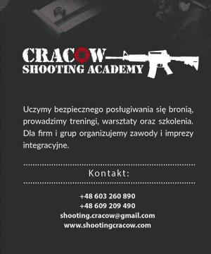 Shooting range Krakow